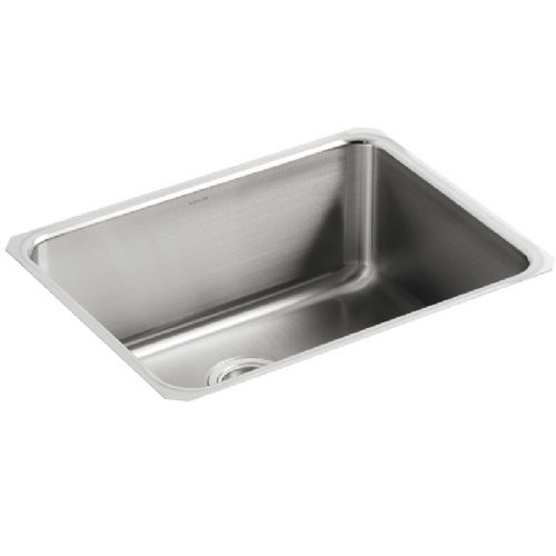 Kohler Icerock Stainless Steel Under-Mount Kitchen Bowl - 3325-NA